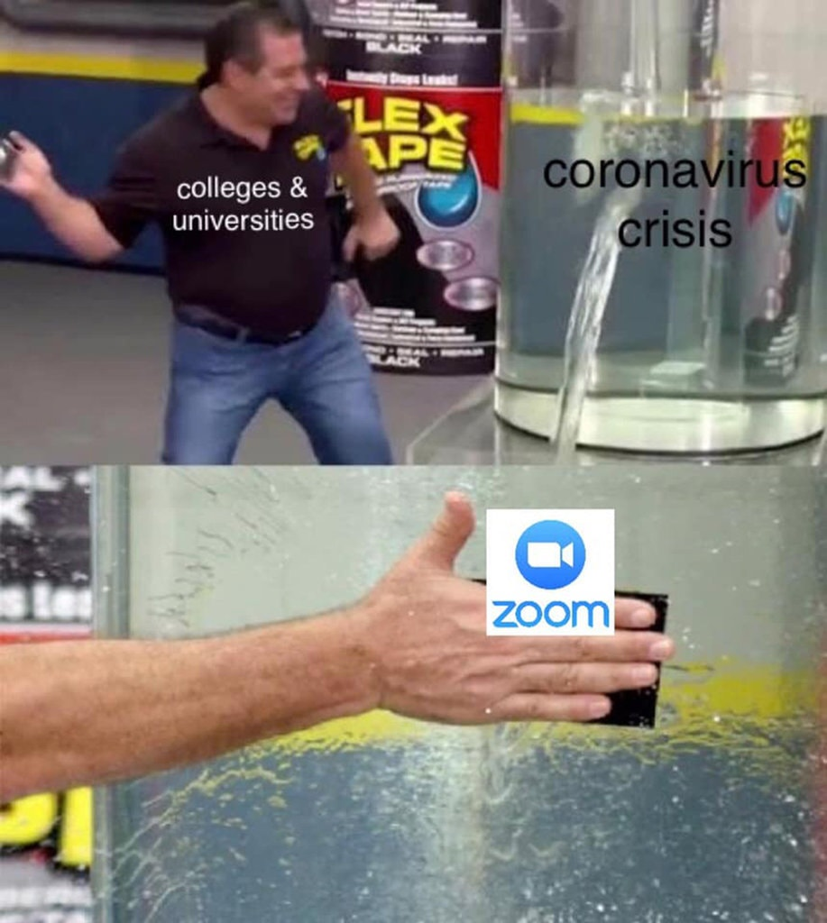 Мемы Zoom
