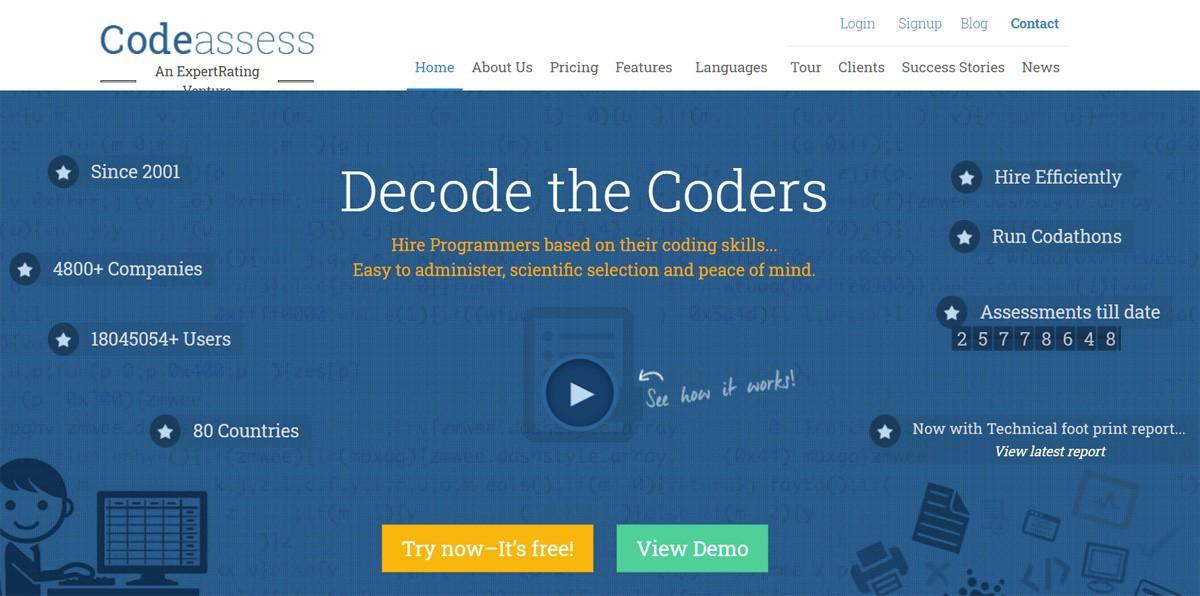Codeasses проверка знаний программистов, сертификация разработчиков