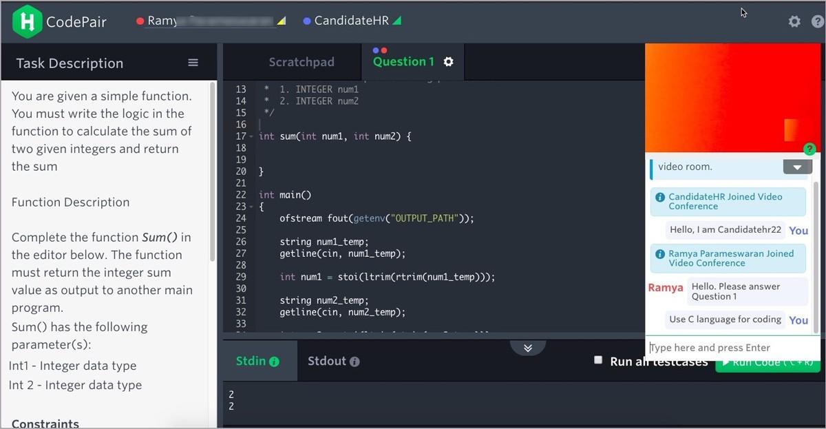 HackerRank автоматическая проверка программистов