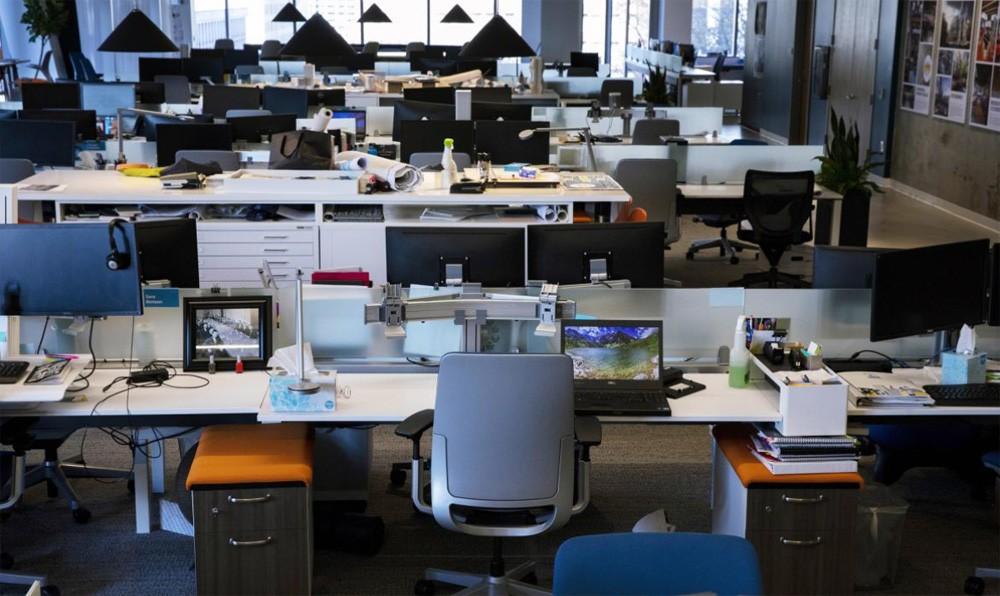 Офис в 2021-м