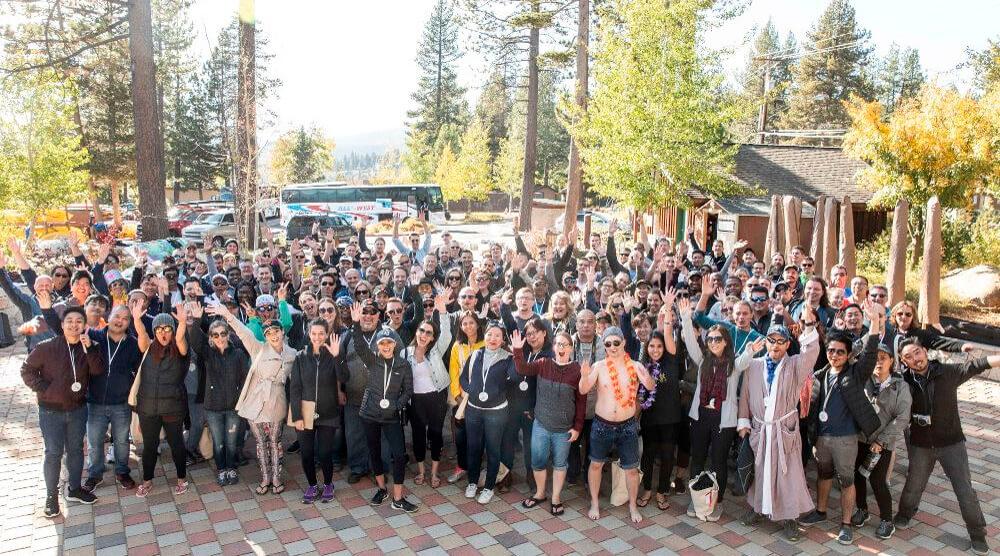 На корпоративе Articulate собрались сотрудники из 18 стран