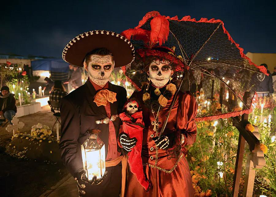 День Мертвых (Día de los Muertos) в Мексике
