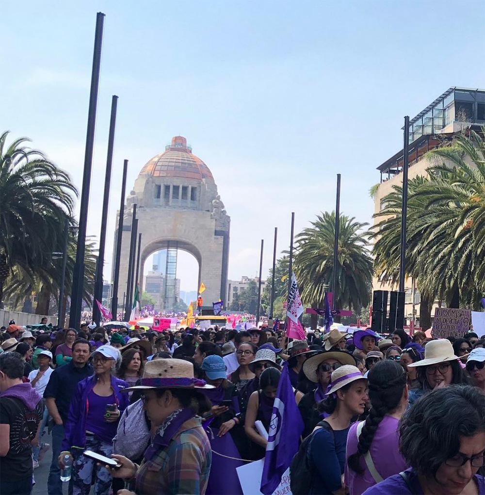Международный женский день в Мексике