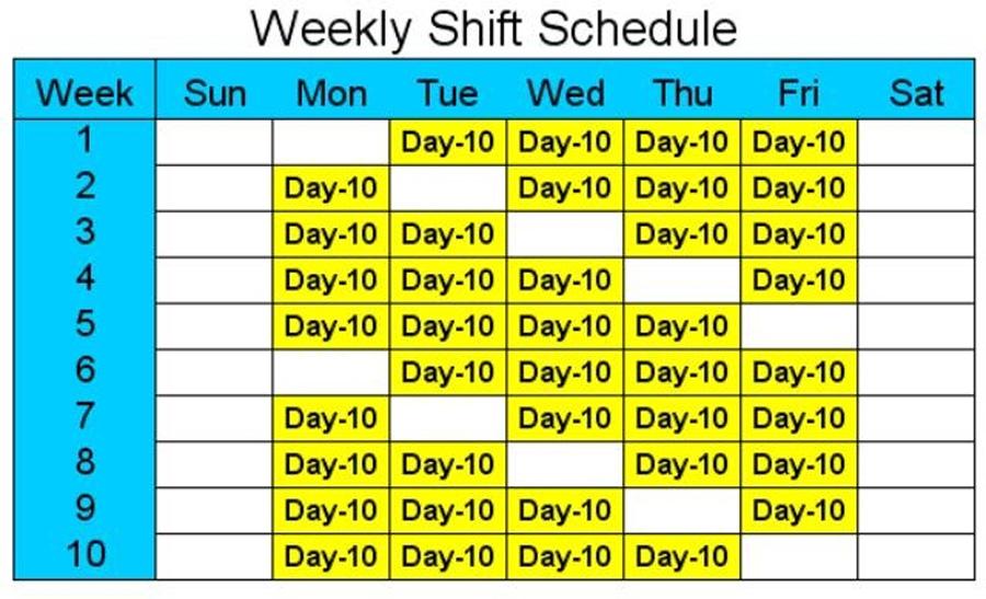 4-дневная рабочая неделя